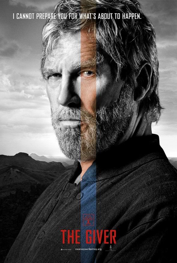 Póster de Jeff Bridges de 'El dador'