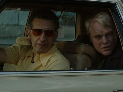 John Turturro y Philip Seymour Hoffman en 'God's pocket'
