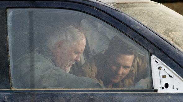 Matthew McConaughey charla con John Lithgow en 'Interstellar'