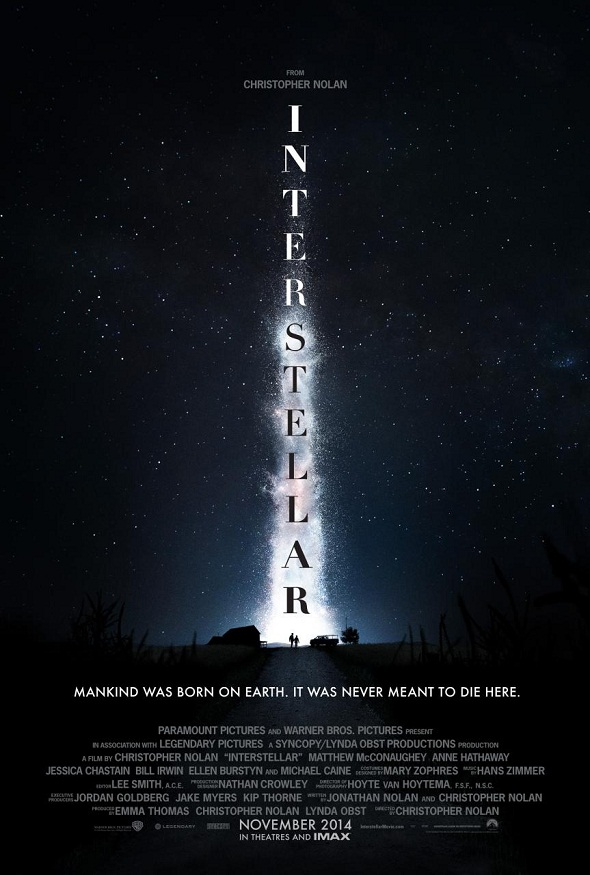 Teaser póster de 'Interstellar'