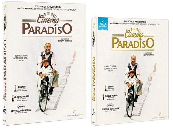 Cinema Paradiso. Edición en DVD y BD.