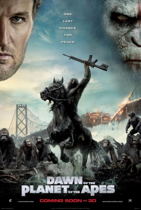 'El amanecer del planeta de los Simios (Dawn of the planet of the Apes)'