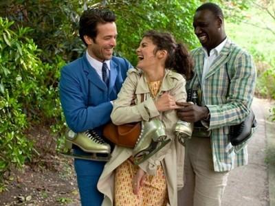 Romain Duris, Audrey Tatou y Omar Sy en 'La espuma de los días'