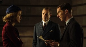 Benedict Cumberbatch, Mark Strong y Keira Knightley en 'The imitation game'