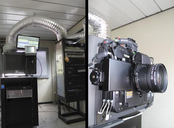 Proyector cine digital Christie CP2220 pantalla 1 de Fescinal