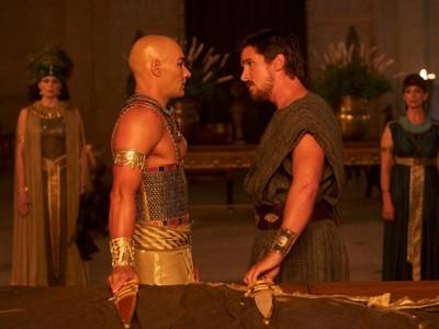 Christian Bale y Joel Edgerton, cara a cara en 'Exodus: Gods and kings'