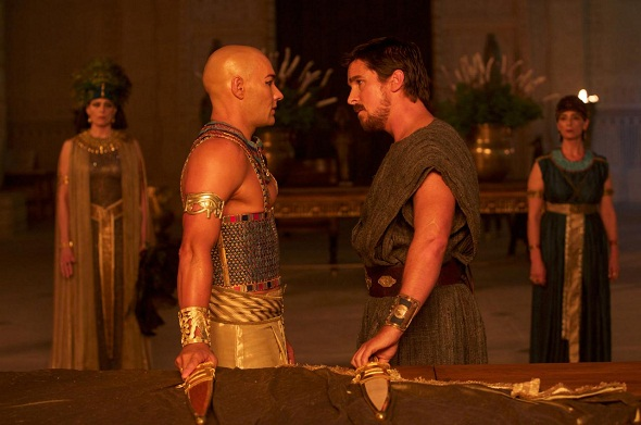 Christian Bale y Joel Edgerton, cara a cara en 'Exodus: Gods and kings'