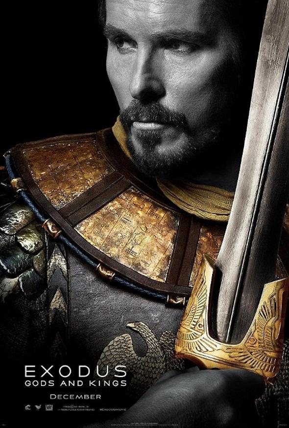 Póster del film con Christian Bale