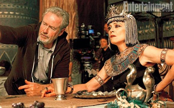 Ridley Scott dirige a Sigourney Weaver en 'Exodus: Gods and kings'