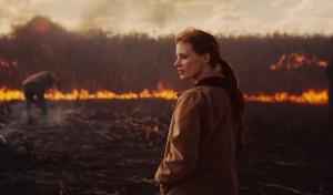 Jessica Chastain en un fotograma del film