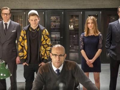Protagonistas de 'Kingsman: Servicio Secreto'