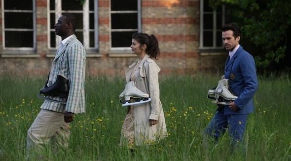 Omar Sy, Audrey Tatou y Romain Duris en 'La espuma de los días'