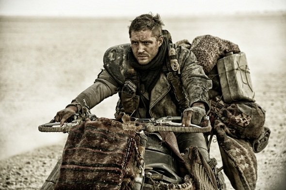 Tom Hardy protagoniza 'Mad Max: Fury road'