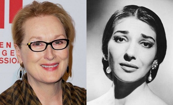 Meryl Streep será Maria Callas en 'Master Class'