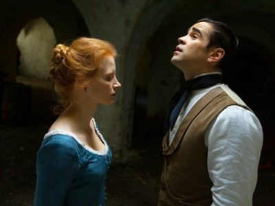 Jessica Chastain y Colin Farrell en 'Miss Julie'
