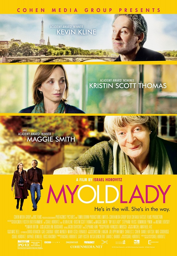 Póster de 'My old lady'