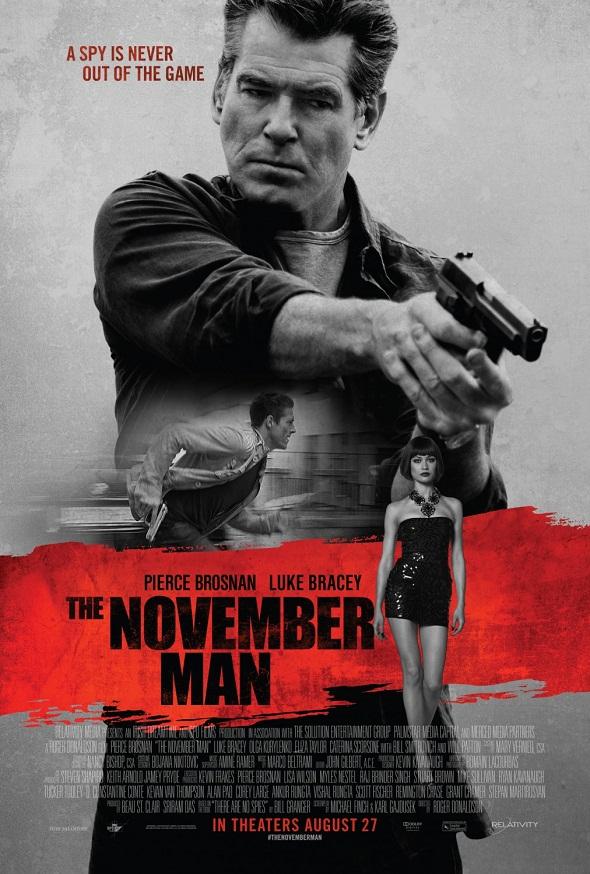 Póster de 'The november man'