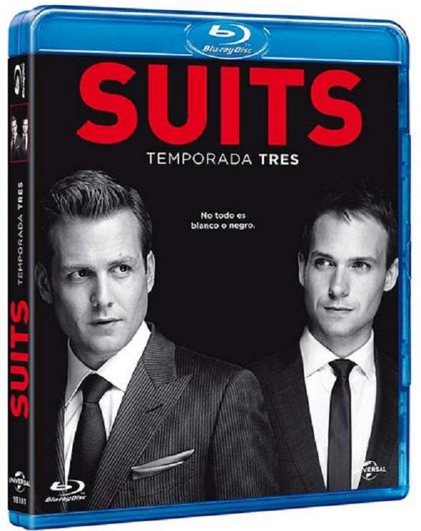Edición BD de la tercera tempora da de la serie Suits