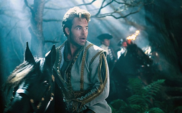 Chris Pine en 'Into the woods'