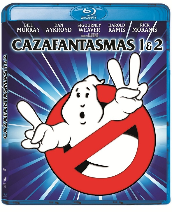 Bluray remasterizado de Cazafantasmas