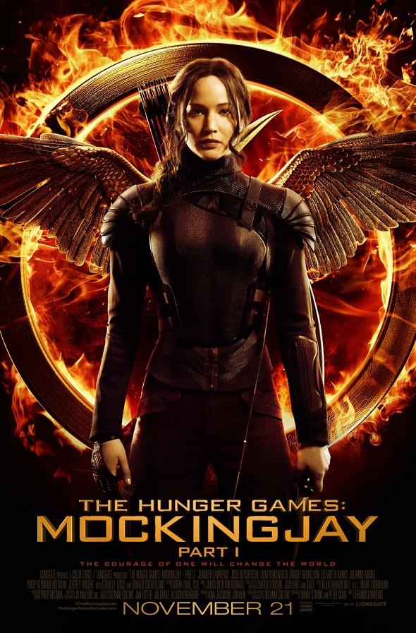 Póster de Katniss Everdeen para 'Los juegos del hambre: Sinsajo.- Parte 1'