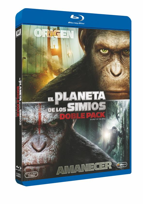 Pack El origen & El amanecer del planeta de los Simios