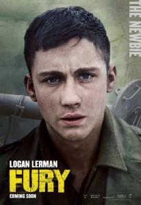 Logan Lerman también protagoniza 'Corazones de acero'