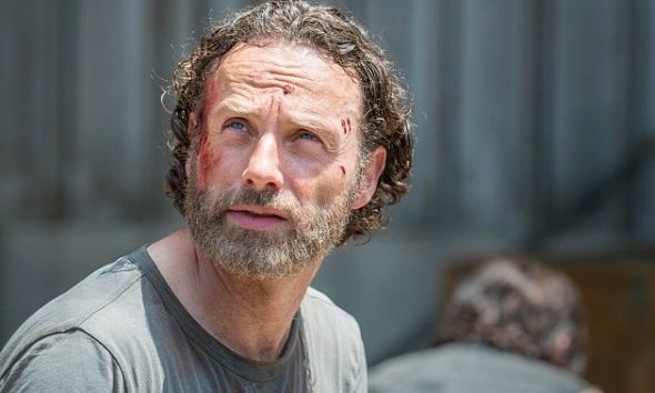 Rick vuelve a protagonizar la quinta temporada de 'The walking dead'
