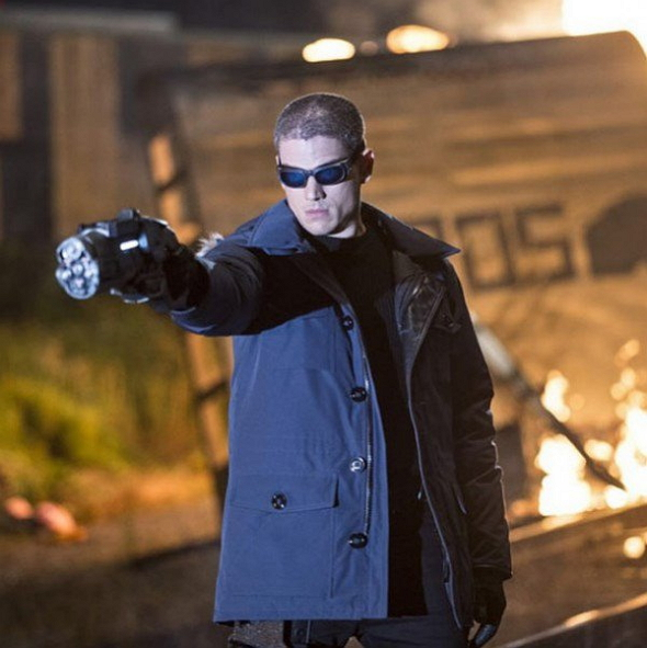 Wentworth Miller como el Capitán Frío