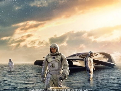 Póster de Interstellar, de Christopher Nolan