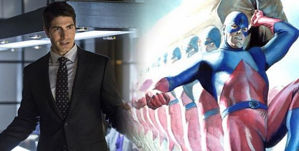 Brandon Routh es Ray Palmer, alias Atom, en la serie 'Arrow'