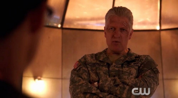 Clancy Brown en el episodio 'Chosen' de The Flash