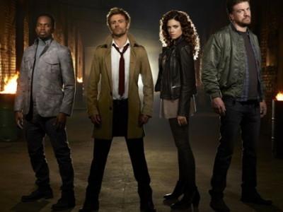 Los protagonistas de la serie 'Constantine'