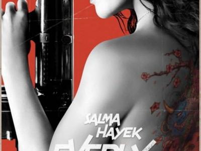 Póster de Everly, la nueva película de Salma Hayek