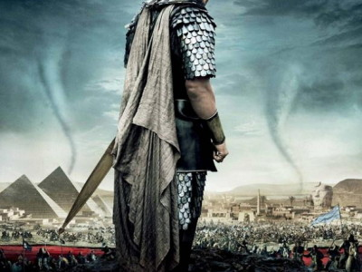 Christian Bale protagoniza el póster de Exodus: Dioses y Reyes (Exodus: Gods and Kings)