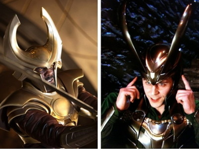 Heimdall (Idris Elba) y Loki (Tom Hiddleston) estarán en 'Los vengadores: la era de Ultrón'