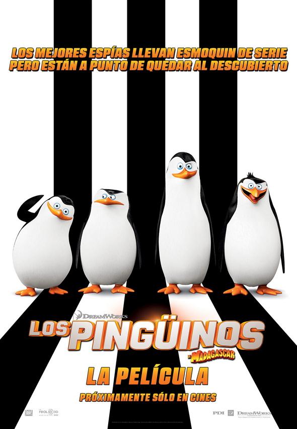 Póster de la película Los Pingüinos de Madagascar