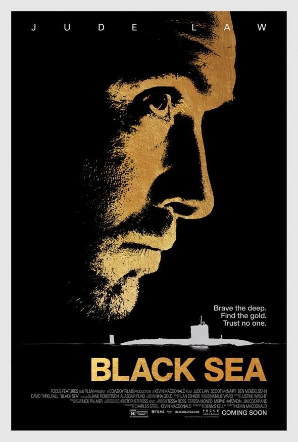 Jude Law protagoniza otro cartel de 'Black sea'