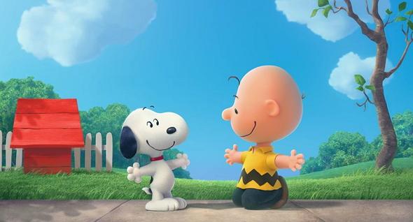 Carlitos y Snoopy, juntos en 'Peanuts'