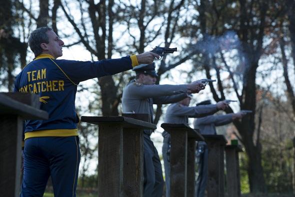 Steve Carrell se pone violento en 'Foxcatcher'