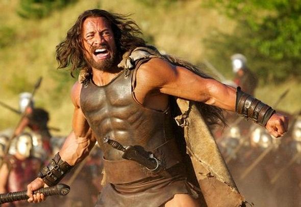 Dwayne Johnson en una imagen de su película 'Hércules'