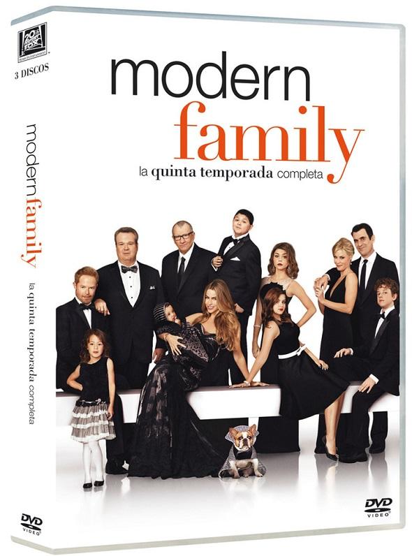 Quinta temporada de 'Modern Family' en DVD