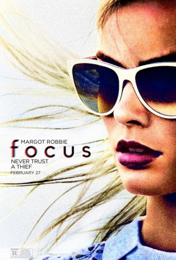 Margot Robbie protagoniza el nuevo póster de Focus