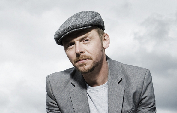 Una imagen del actor Simon Pegg
