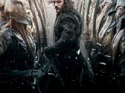Luke Evans protagoniza el póster de El Hobbit: la batalla de los cinco ejércitos (The Hobbit: the battle of the five armies)