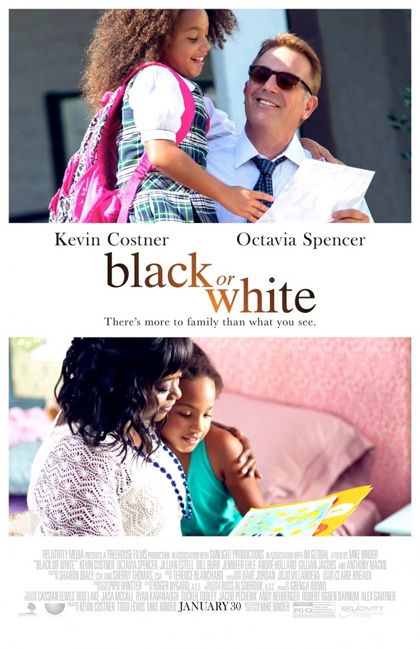 Póster de 'Black or white'