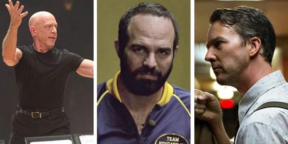 J.K. Simmons, Mark Ruffalo y Edward Norton, favoritos para mejor actor de reparto
