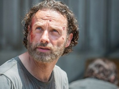 Imagen de Andrew Lincoln, protagonista de la serie The Walking Dead