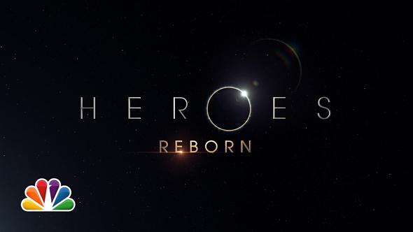 Logotipo de la miniserie Heroes Reborn