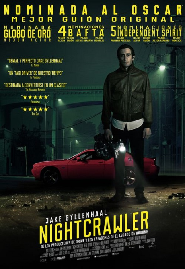 Póster final en espñaol de Nightcrawler